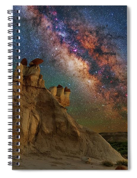 Desert Castle Spiral Notebook