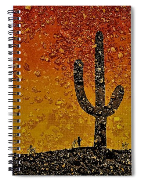Desert Dreams Spiral Notebook