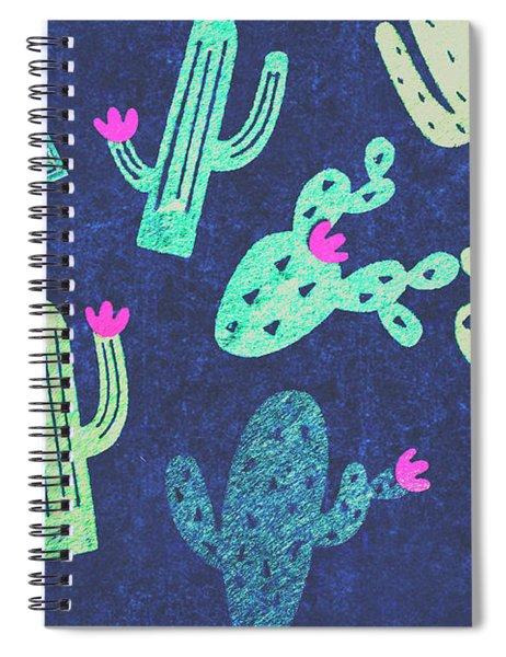 Desert Nights Spiral Notebook