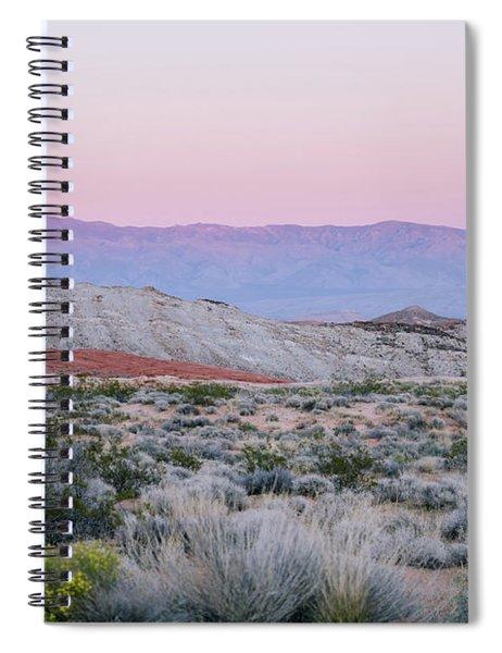 Desert On Fire No.1 Spiral Notebook