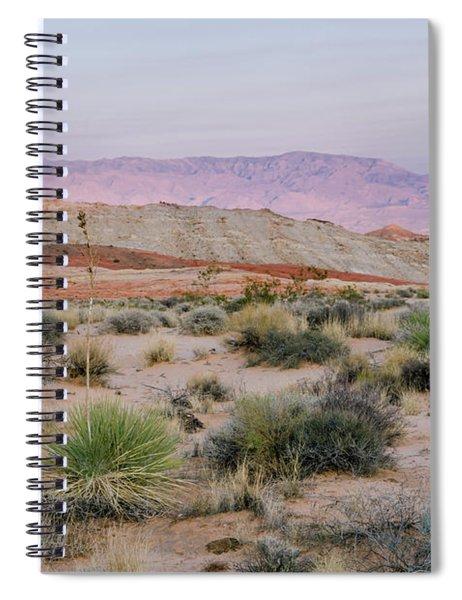 Desert On Fire No.3 Spiral Notebook