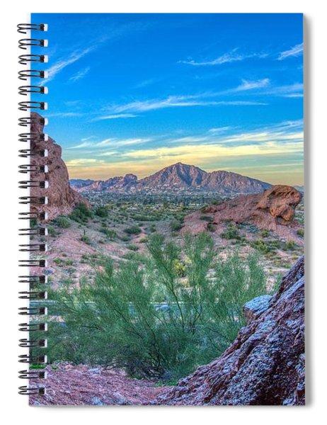 Desert Paradise  Spiral Notebook