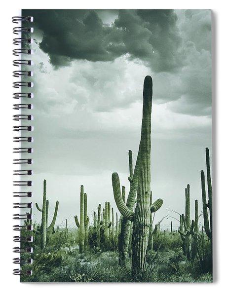 Desert Storm In Arizona Spiral Notebook