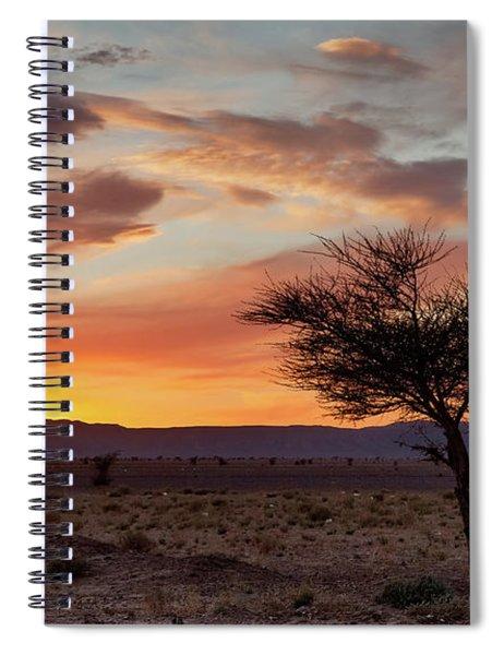 Desert Sunset II Spiral Notebook