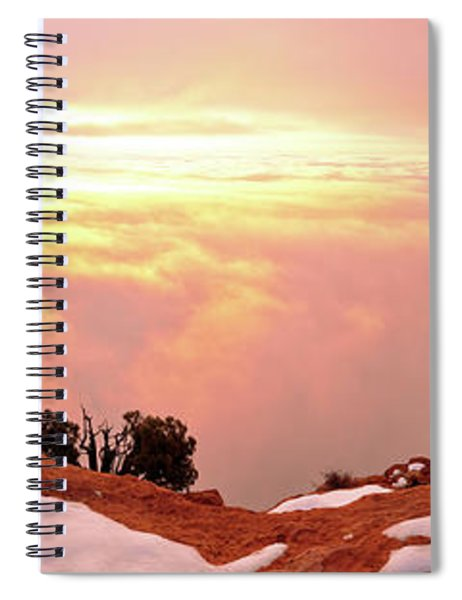 Desert Winter Spiral Notebook