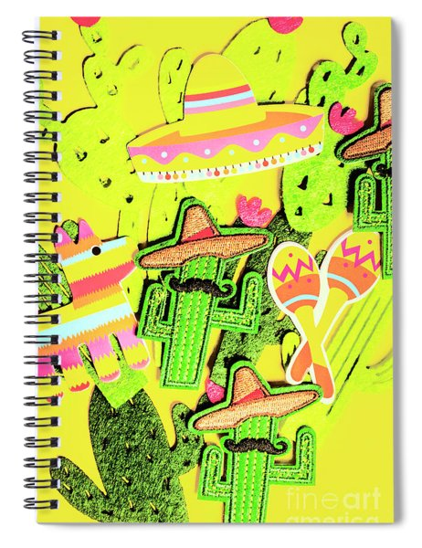 Desertly Decorated Spiral Notebook