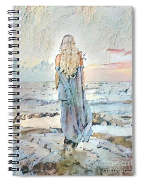 Desolate Or Contemplative Spiral Notebook