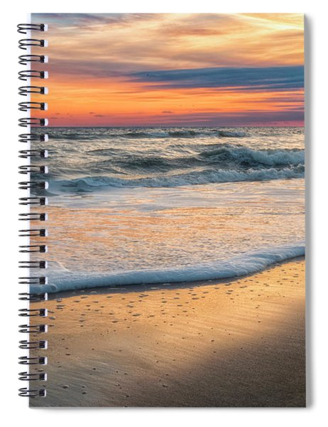 Detailed Spiral Notebook