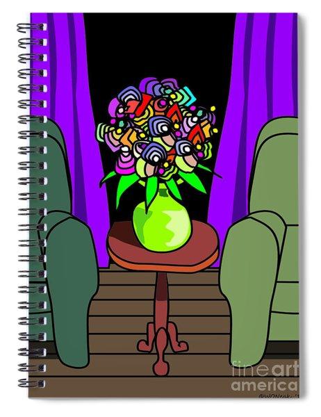 Detente Spiral Notebook