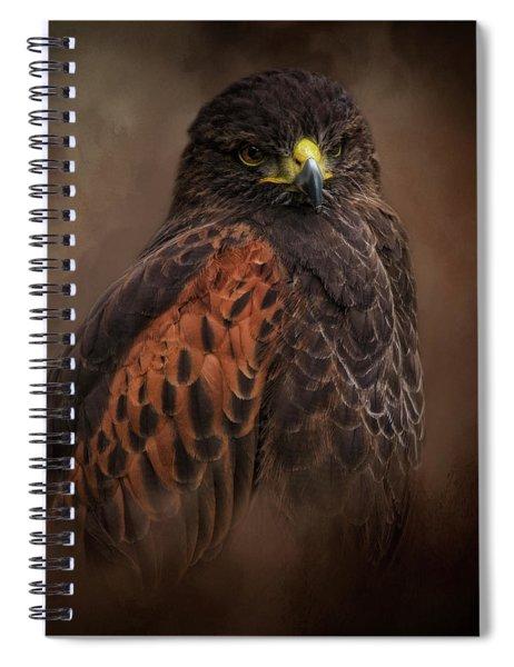 Determined Spiral Notebook