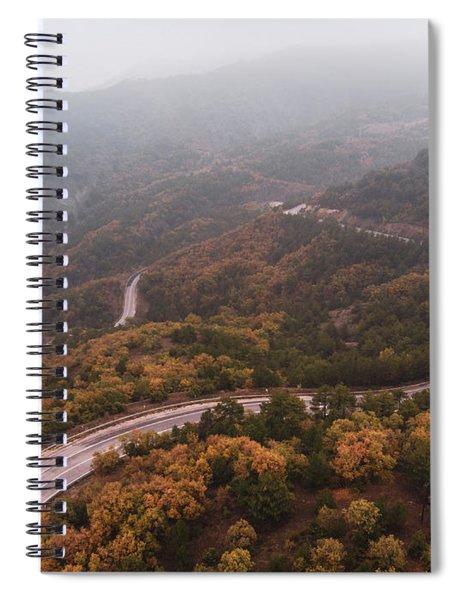 Detour Spiral Notebook