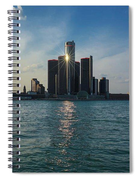 Detroit Shines Spiral Notebook