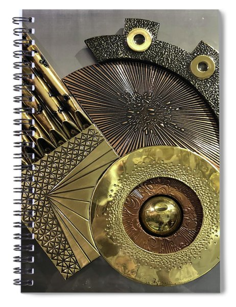 Deus Ex Machina Spiral Notebook