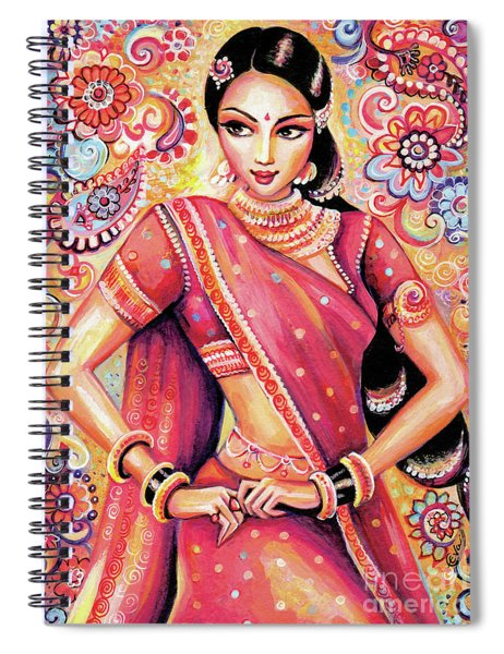 Devika Dance Spiral Notebook