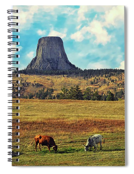 Devil's Tower Wyoming Spiral Notebook
