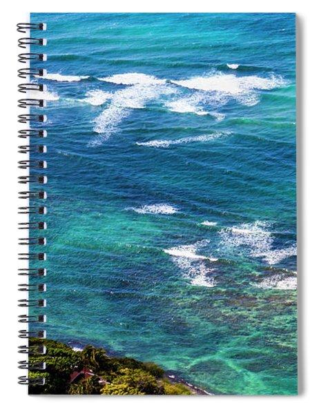Diamond Head Lighthouse, Oahu Hawaii. Spiral Notebook
