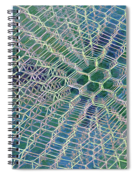 Diamond Spiral Notebook