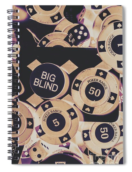 Diamond Odds Spiral Notebook
