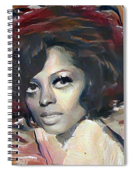 Diana Ross Spiral Notebook