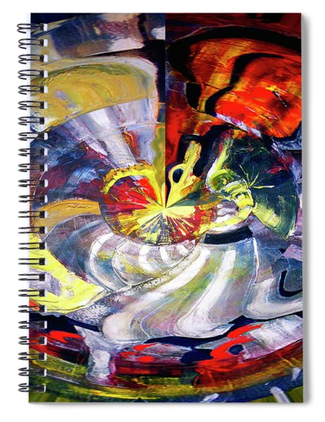 Digital Bar Scene Spiral Notebook