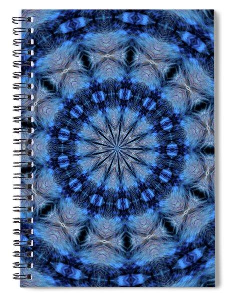 Blue Jay Mandala Spiral Notebook