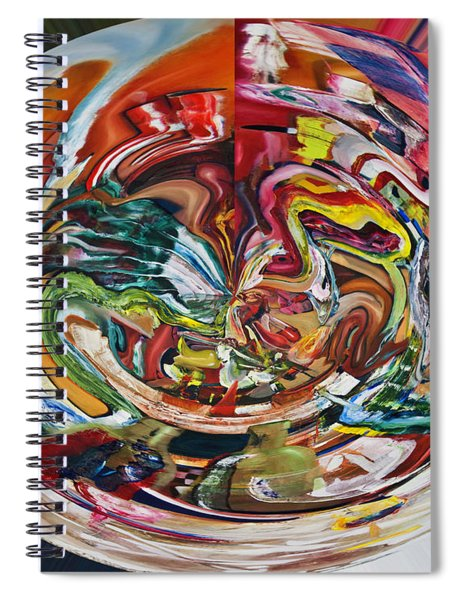 Digital Fish Supper Spiral Notebook