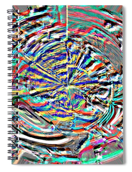Digital II Mind That Hot Tea Spiral Notebook