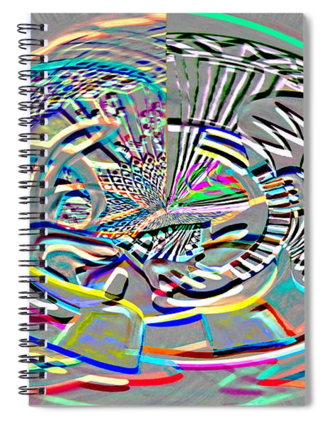 Digital II The Guitarist Spiral Notebook