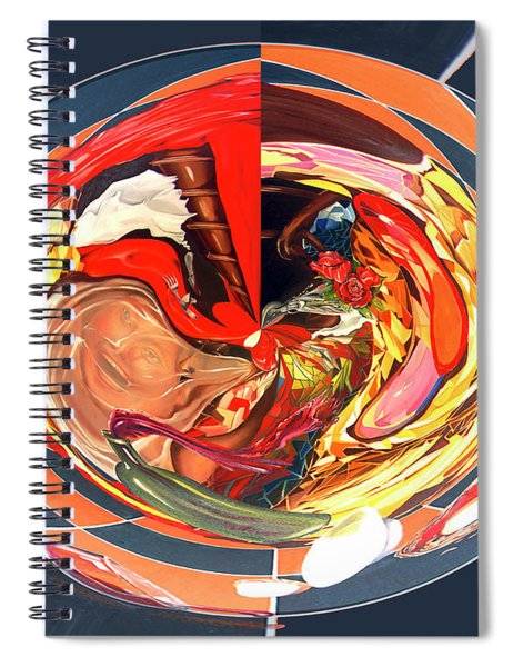 Digital L'addition S'il Vous Plait Spiral Notebook