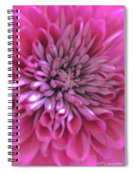 Digital Oil Painting Spiral Notebook