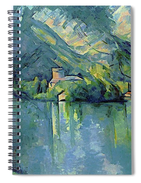 Lake Annecy - Digital Remastered Edition Spiral Notebook