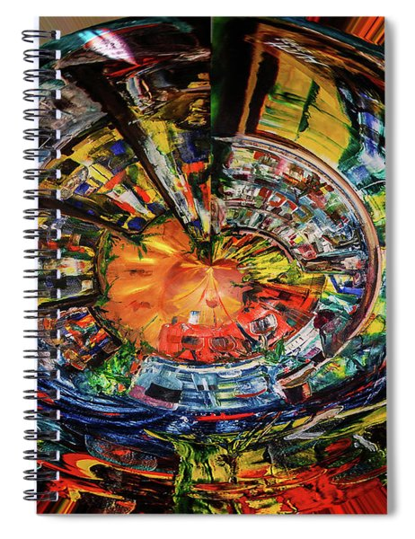 Digital The Sangria Jug Spiral Notebook