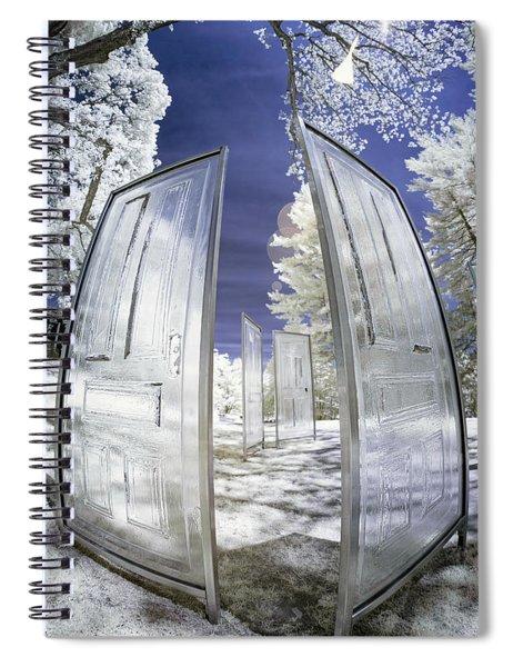 Dimensional Doors Spiral Notebook