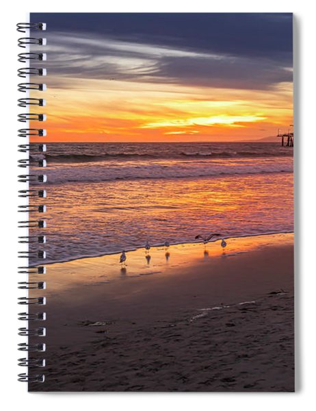 Dinner For 4 - Make It 5 Spiral Notebook