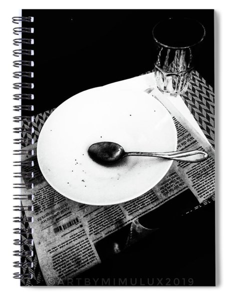 Dinner For One Spiral Notebook