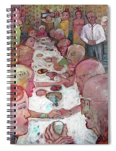 Dinner Party Spiral Notebook