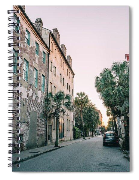Dipping Light Spiral Notebook