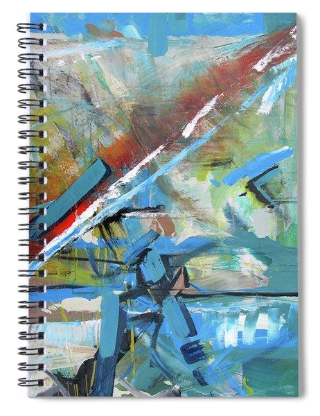 Dirt To Highway Spiral Notebook