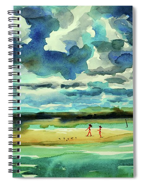 Disappearing Island Afternoon 2018 Spiral Notebook