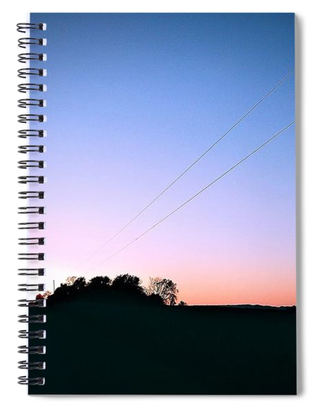 Disappearing Lines Spiral Notebook
