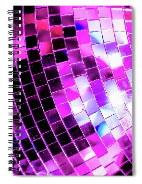 Disco Ball 1 Spiral Notebook