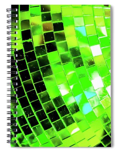 Disco Ball 2 Spiral Notebook