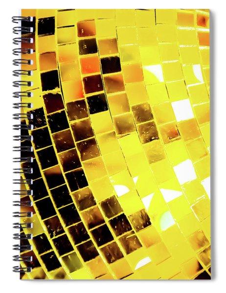 Disco Ball 3 Spiral Notebook