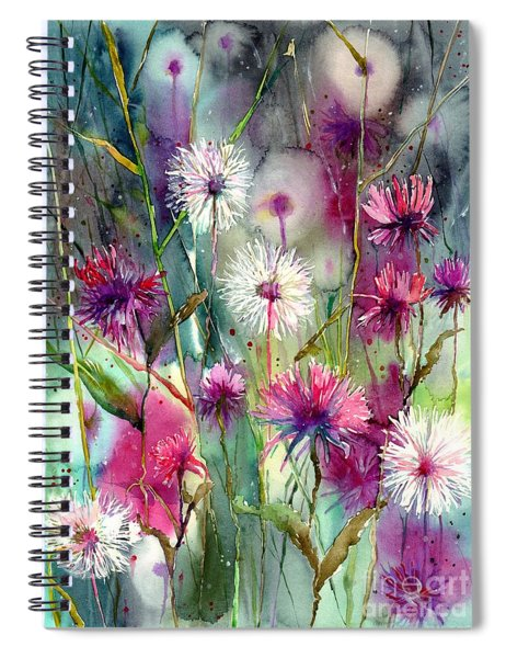 Disco Thistles Spiral Notebook