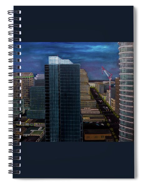 Discordant Chords Spiral Notebook