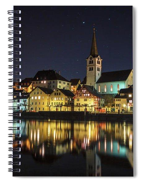 Dissenhofen On The Rhine River Spiral Notebook