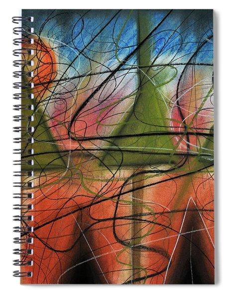 Disturbance At Lake Spiral Notebook