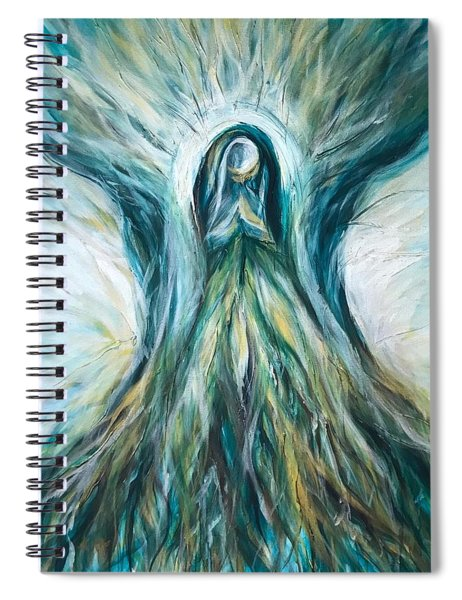 Divine Mother Tree Of Wisdom Spiral Notebook