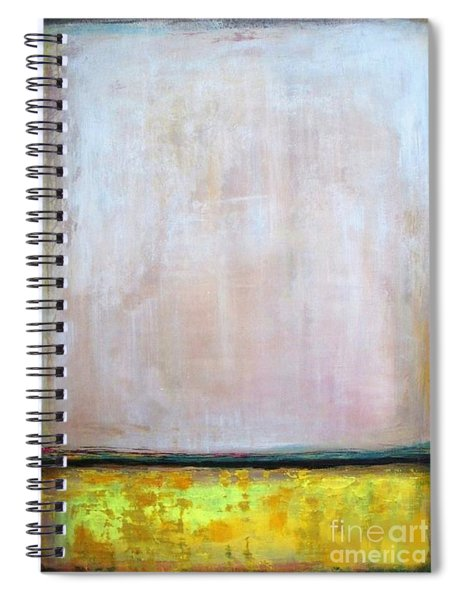 Divine Of Canola Field Spiral Notebook by Vesna Antic