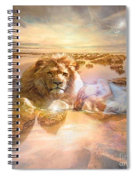 Divine Rest Spiral Notebook